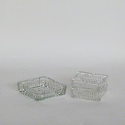 2dos ceniceros cristal
