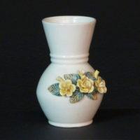 E16-1jarron flores en relieve
