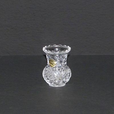 E16-2jarroncito cristal tallado