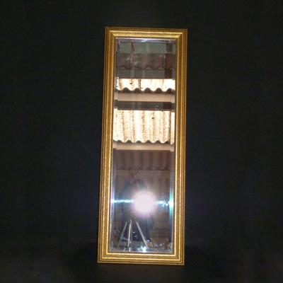 Espejos el almac n de atrezzo for Espejo marco dorado