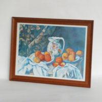 P4-c18-bodegon-manzanas-y-jarra-de ceramica-marco-de-madera