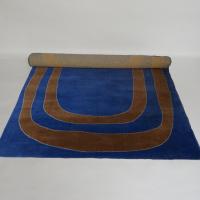 alfombre-azul-espiral-marron