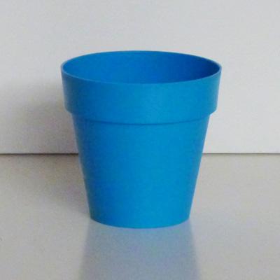 maceta azul